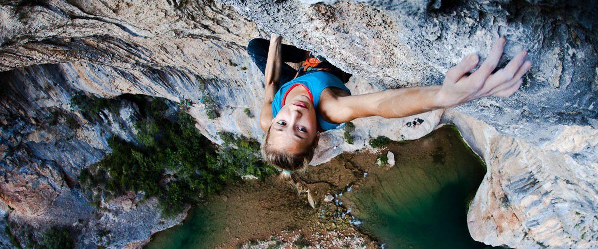 Female climber cover photo