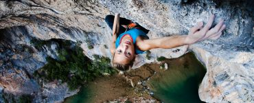 Female climber cover photo
