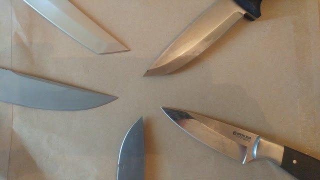 Figure 7 - Knife Blade Shapes