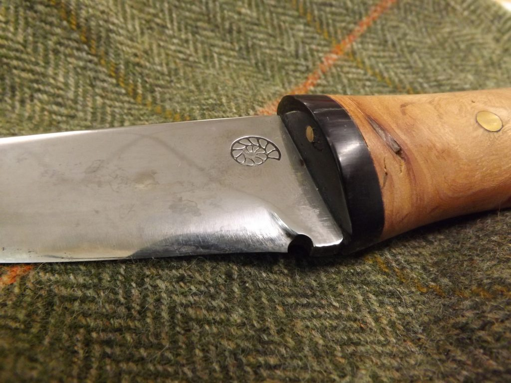 Figure 5 - Knife Choil