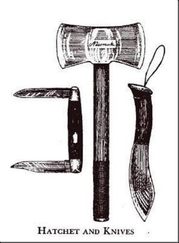 Nessmuk tool trio image