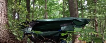 camping hammock cover