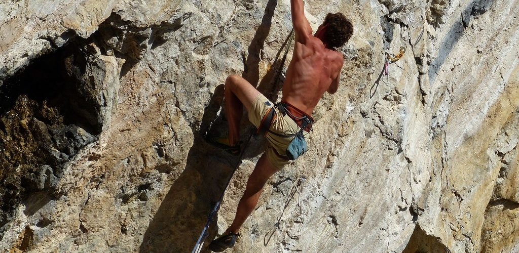 Columbian rock climbing