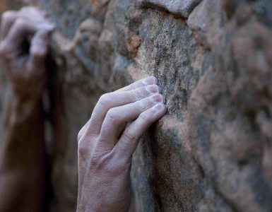 Rock climbing hold cover