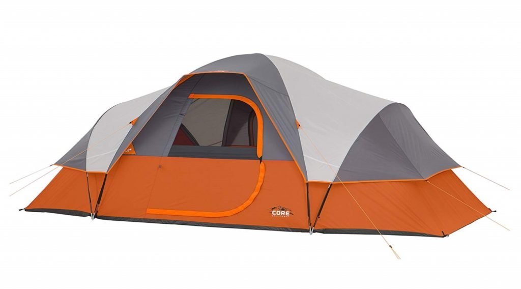 Core 9 Person Extended Dome Tent 1