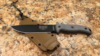 esee 6p fixed blade knife