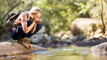 camping water saving tips